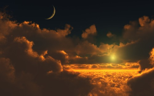 Bulan dan Matahari