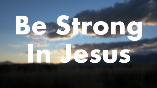 Kekuatan Dalam Tuhan